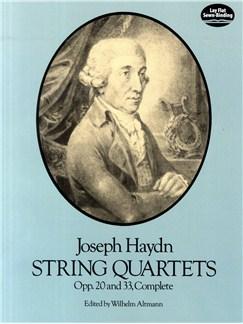 Joseph Haydn: String Quartets Opp. 20 And 33 Complete (Full Score) Books | String Quartet