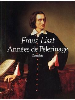Franz Liszt: Annees De Pelerinage Complete Books | Piano