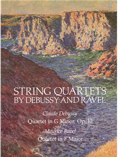 Claude Debussy And Maurice Ravel: String Quartets Books | String Quartet