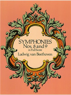 Beethoven: Symphonies Nos. 8 And 9 (Full Score) Books | Orchestra