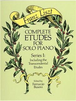 Franz Liszt: Complete Etudes For Solo Piano Series I Books | Piano