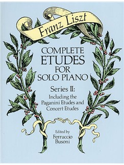 Franz Liszt: Complete Etudes For Solo Piano Series II Books | Piano