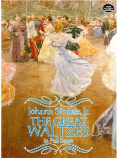 Johann Strauss II: The Great Waltzes (Full Score) Books | Orchestra