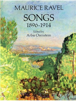 Maurice Ravel: Songs 1896-1914 Books | Voice, Piano