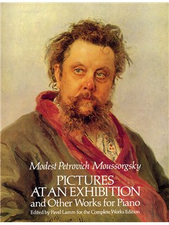 Modest Petrovich Mussorgsky: Pictures At An Exhibition And Other Works For Piano Books | Piano