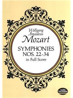 W.A. Mozart: Symphonies Nos. 22-34 Books | Orchestra