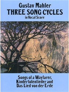 Gustav Mahler: Three Song Cycles Books | Voice, Piano
