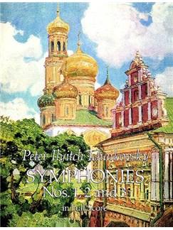 P.I. Tchaikovsky: Symphonies Nos. 1, 2 And 3 Books   Orchestra