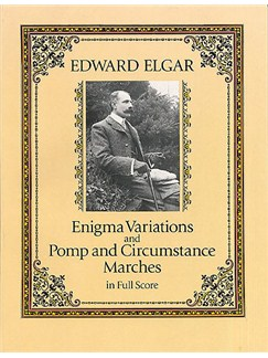 Edward Elgar: Enigma Variations And Pomp And Circumstance Marches (Full Score) Books | Orchestra