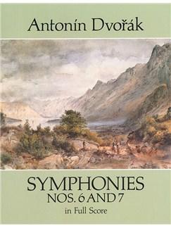 Antonin Dvorak: Symphonies Nos.6 And 7 (Dover Full Score) Books | Orchestra