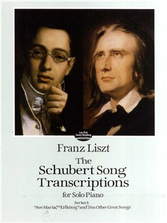 Franz Liszt: Schubert Song Transcriptions For Solo Piano Series I Books | Piano