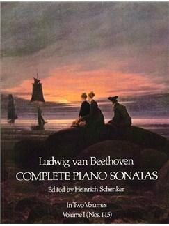 Beethoven: Complete Piano Sonatas - Volume I (Dover Edition) Books | Piano