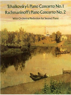 Tchaikovsky: Piano Concerto No.1/Rachmaninov: Piano Concerto No.2 (2 Piano Score) Books | Two Pianos