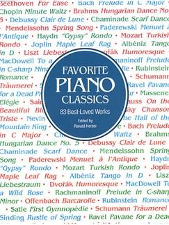 Favorite Piano Classics Books | Piano