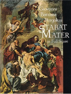 Giovanni Pergolesi: Stabat Mater (Full Score) Books | Soprano, Alto Soli, 2 Violin, Viola, Cello