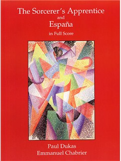 Dukas's The Sorcerer's Apprentice And Chabrier's 'Espana' In Full Score Books | Orchestra