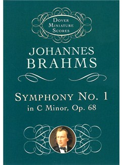 Johannes Brahms: Symphony No.1 In C Minor Op.68 (Miniature Score) Books | Orchestra