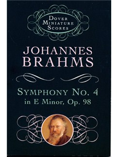 Johannes Brahms: Symphony No. 4 In E Minor Op.98 (Study Score) Books | Orchestra