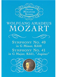 W.A. Mozart: Symphony No. 40 In G Minor K550 And Symphony No. 41 In C Major K551, 'Jupiter' Books | Orchestra