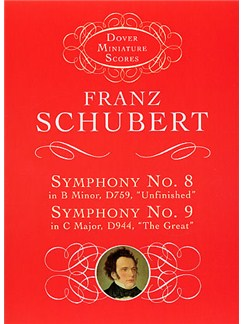 Franz Schubert: Symphony No.8 In B Minor D759, 'Unfinished' And Symphony No. 9 In C Major, D944, 'The Great' Books | Orchestra