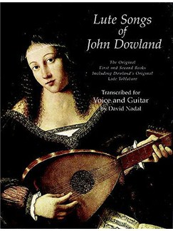 John Downland : Lute Songs - First And Second Books Books | Voice, Guitar