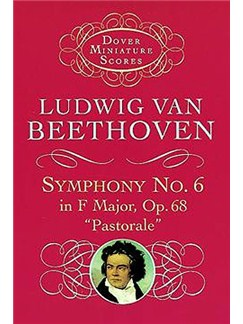 Beethoven: Symphony No.6 In F Major Op.68 'Pastorale' (Miniature Score) Books | Orchestra