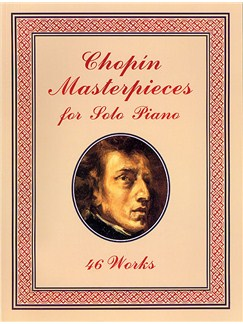 Chopin Masterpieces For Solo Piano Books | Piano