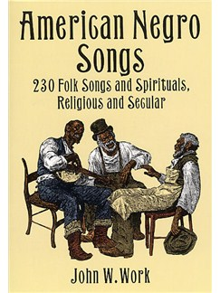 American Negro Songs Books | Piano, Voice