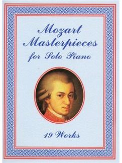 W.A. Mozart: Masterpieces For Solo Piano Books   Piano
