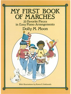 My First Book Of Marches Easy Piano Books | Piano