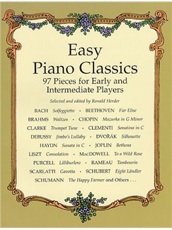 Easy Piano Classics: 97 Pieces For Early And Intermediate Players Books | Piano