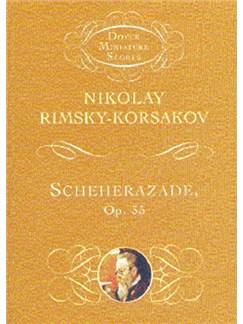 Nikolay Rimsky-Korsakov: Scheherazade Op.35 (Dover Miniature Score) Books | Orchestra