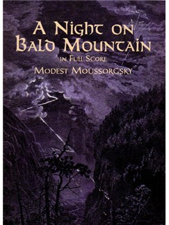 Moussorgsky: A Night On Bald Mountain (Score) Books | Orchestra