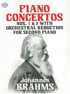 Johannes Brahms: Piano Concertos Nos 1 And 2, With Orchestral Reduction For Second Piano Books | 2 Piano