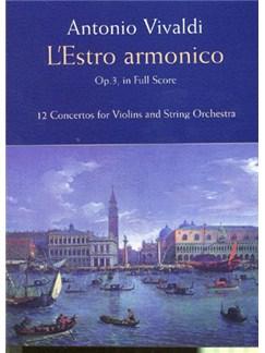 Antonio Vivaldi: L'Estro Armonico Op.3 (Full Score) Books | String Instruments