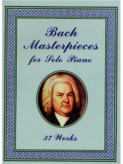 J.S Bach Masterpieces for Solo Piano Books | Piano