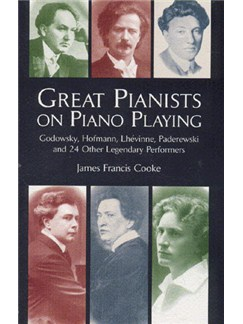 James Francis Cooke: Great Pianists On Piano Playing Books | Piano