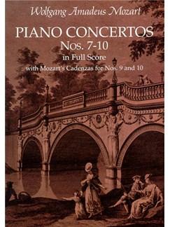 W.A. Mozart: Piano Concertos Nos. 7-10 In Full Score Books | Piano, Orchestra