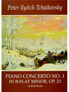 P.I. Tchaikovsky: Piano Concerto No.1 In B Flat Minor Op.23 (Full Score) Books | Piano, Orchestra