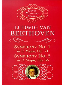 Beethoven: Symphony No.1 And No.2 (Dover Miniature Score) Books | Orchestra