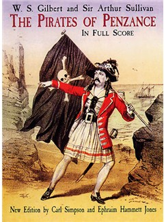 Gilbert And Sullivan: The Pirates Of Penzance In Full Score Books | Orchestra