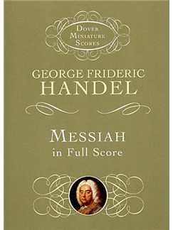 G.F. Handel: Messiah (Miniature Score) Books | Opera