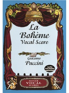 Giacomo Puccini: La Boheme Vocal Score Books | SATB, Piano Accompaniment