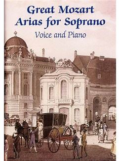 Great Mozart Arias For Soprano Livre | Soprano, Accompagnement Piano
