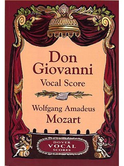 W.A Mozart Don Giovanni (Vocal Score) - Dover Edition Books | Opera