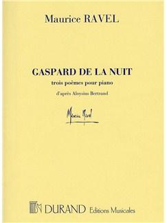 Maurice Ravel: Gaspard De La Nuit Piano Books | Piano