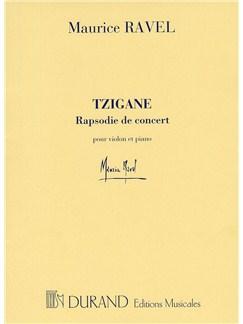 Maurice Ravel: Tzigane - Rapsodie De Concert Books | Violin