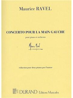 Maurice Ravel: Concerto Pour La Main Gauche (Two Pianos) Books | Two Pianos