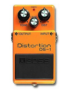 Boss: DS-1 Distortion Pedal  | Electric Guitar