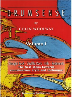 Colin Woolway: Drumsense Volume 1 (4th Edition) Books and CDs | Drums